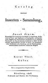 Catalog meiner Insecten-Sammlung