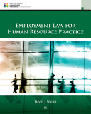 Employment Law for Human Resource Practice PDF