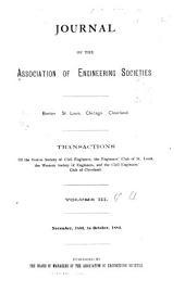 Journal of the Association of Engineering Societies ...: Volumes 3-4