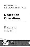 Deception Operations PDF