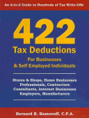 422 Tax Deductions
