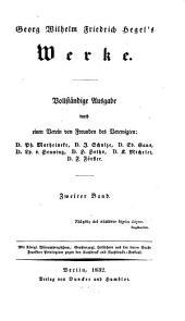 Werke: Phänomenologie des Geistes, Band 2