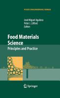 Food Materials Science PDF