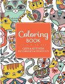 Coloring Book Cats   Kittens for Comfort   Creativity PDF