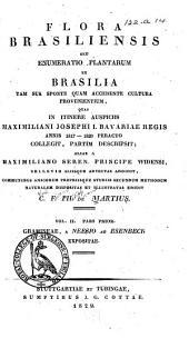 pt. 1. Agrostologia brasiliensis seu descriptio graminum in imperio Brasiliensi huc usque detectorum, auctore. C. G. Neesio ab Esenbeck