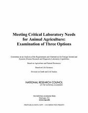 Meeting Critical Laboratory Needs for Animal Agriculture PDF