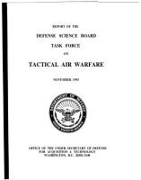 Report of the Defense Science Board Task Force on Tactical Air Warfare PDF