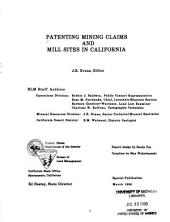Patenting mining claims and mill sites in California: Volume 68, Issue 5