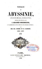 Voyage en Abyssinie, dans le pays des Galla, de Choa et d'Ifat, précédé d'une excursion dans l'Arabie-heureuse