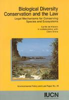 Biological Diversity Conservation and the Law PDF