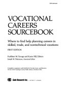 Vocational Careers Sourcebook PDF