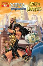 Xena: Warrior Princess vs. Army of Darkness: What, Again? #1