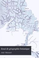 Download Essai de G  ographie Botanique Book