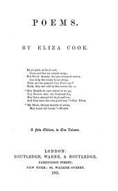 Poems by Eliza Cook