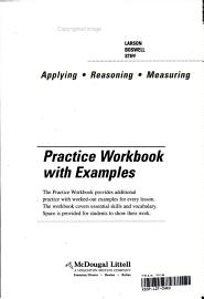 Geometry  Grade 10 Practice Workbook With Examples