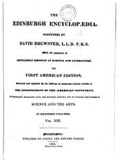 The Edinburgh Encyclopaedia: Volume 13