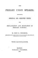 The Primary Union Speaker PDF
