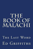 The Book Of Malachi Book PDF