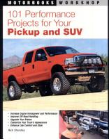 101 Performance Projects for Your Pickup and SUV PDF