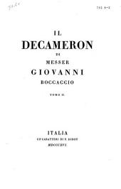 Il decameron: Volume 2