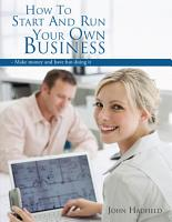How to start and run your own business PDF