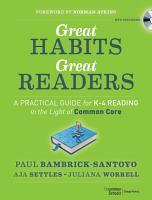 Great Habits  Great Readers PDF