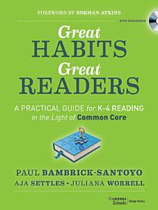 Great Habits  Great Readers Book