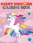 Giant Unicorn Coloring Book