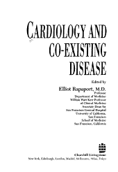 Cardiology and Co-existing Disease