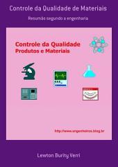 Controle Da Qualidade De Materiais