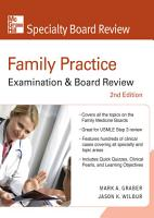 Family Practice Examination   Board Review  Second Edition PDF