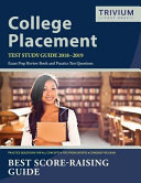 College Placement Test Study Guide 2018-2019