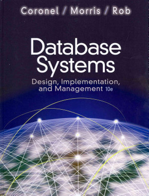 Database Systems  Design  Implementation  and Management PDF