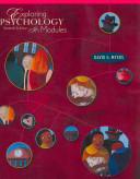 Exploring Psychology In Modules Student Video Tool Kit Book PDF