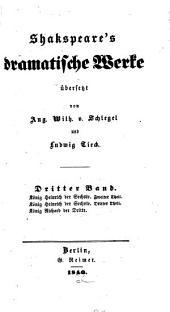 Shakespeare's dramatische Werke: Band 3