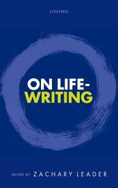 On Life-Writing