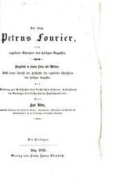 Der selige Petrus Fourier