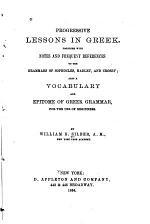 Progressive Lessons in Greek