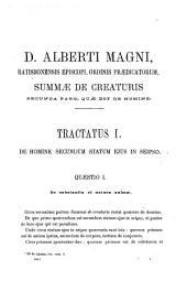 B. Alberti Magni Ratisbonensis episcopi, ordinis Prædicatorum, Opera omnia: ex editione lugdunensi religiose castigata, Volume 35