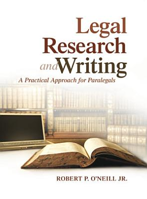 Legal Research and Writing PDF