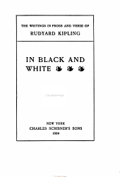 The Writings in Prose and Verse of Rudyard Kipling: Volume 4