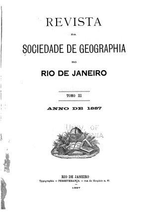 Revista Da Sociedad Brasileira de Geografia PDF