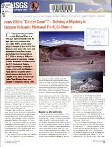 How Old is  Cinder Cone   Book