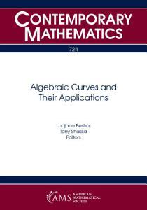 Algebraic Curves and Their Applications PDF
