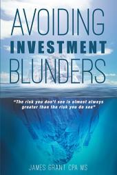 Avoiding Investment Blunders