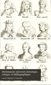 Dictionnaire universel, historique, critique, et bibliographique: Volume11
