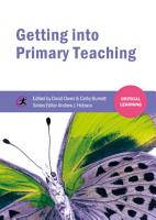 Getting into Primary Teaching PDF