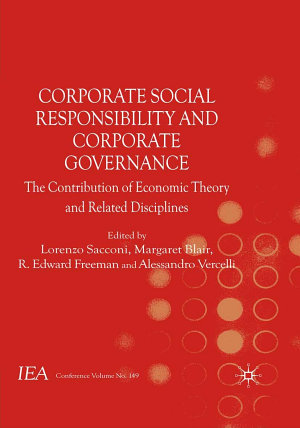 Corporate Social Responsibility and Corporate Governance PDF
