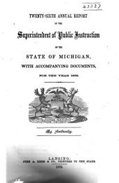 Annual Report of the Superintendent of Public Intruction of the State of Michigan