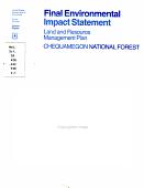 Final Environmental Impact Statement Final Environmental Impact Statement
